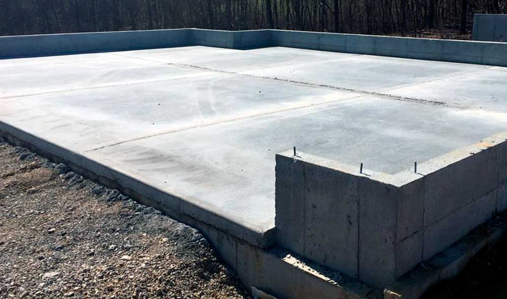 Фундаментная монолитная плита, устройство фундаментной плиты, фундаментная плита с теплым полом
