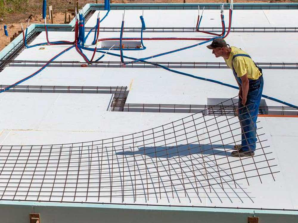 Устройство фундаментной плиты, монолитная фундаментная плита, монолитный фундамент плита