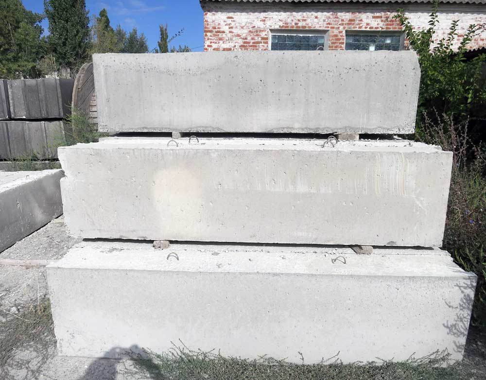 Фундаментные блоки, блоки фундаментные ГОСТ, размеры фундаментных блоков
